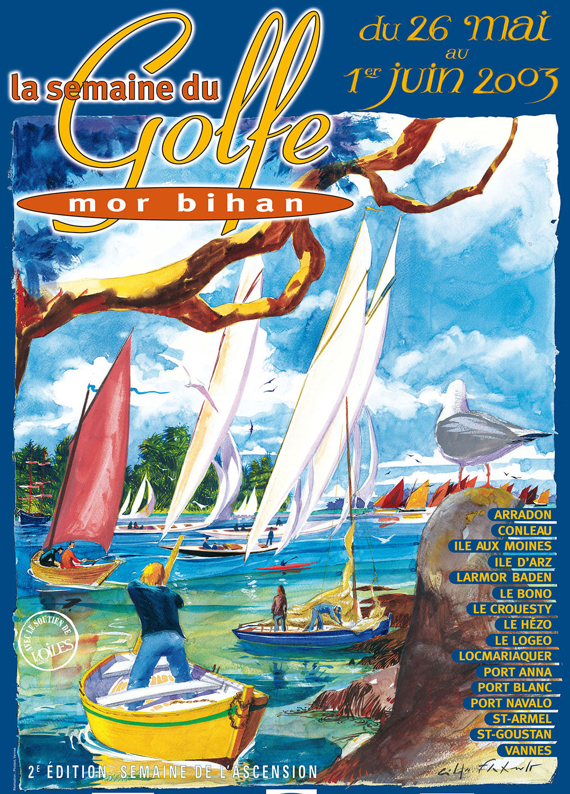 Concept La Semaine Du Golfe Du Morbihan Edition 2017